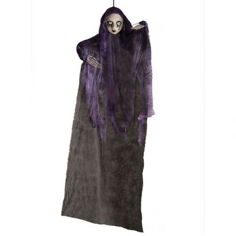 Decorative Hanging Dolly with Tunic 90cm Ghost Scary Creepy Halloween